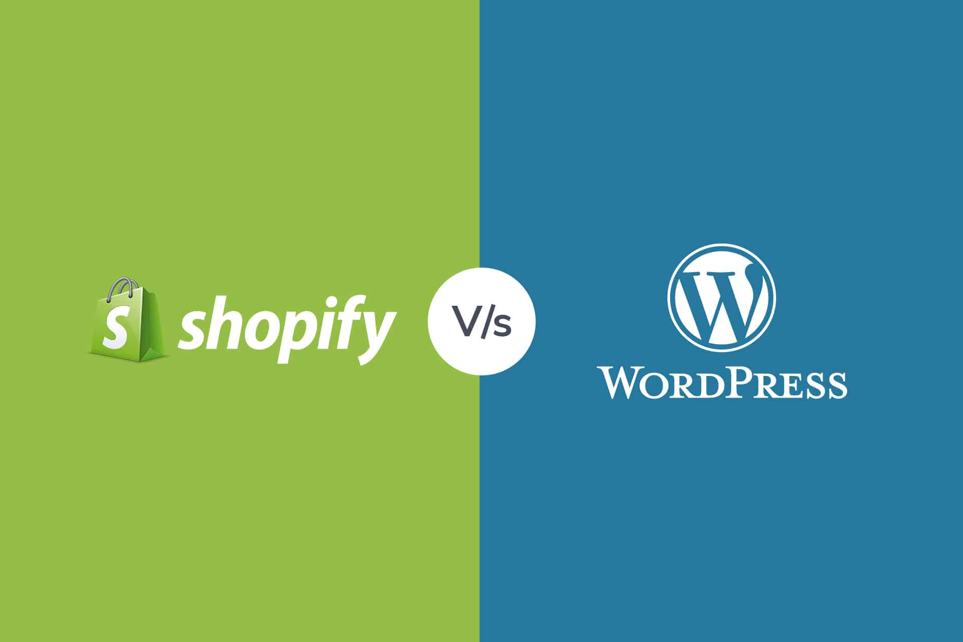 Shopify vs. WordPress