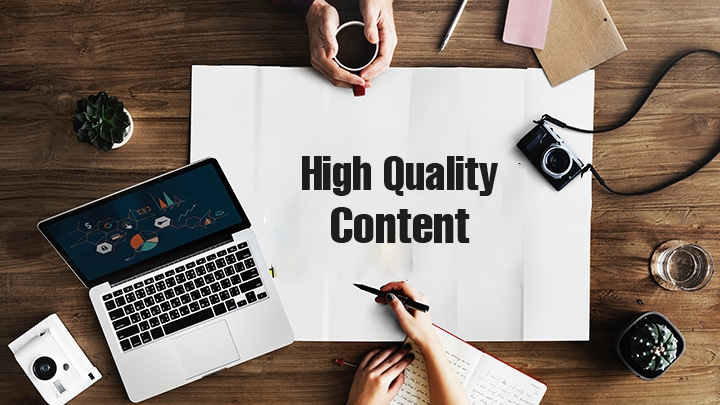 Top 10 Tips to Create High Quality Content